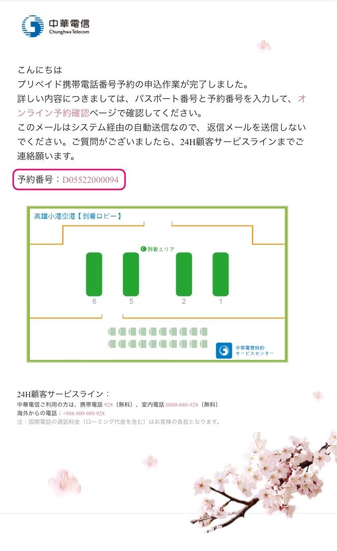中華電信オンラインSIM予約