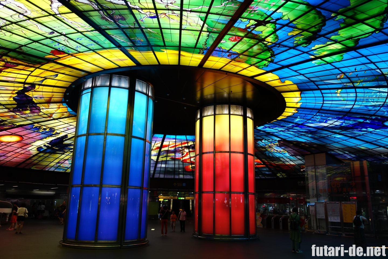 台湾 高雄の美麗島駅