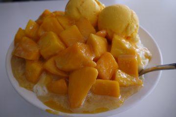 台湾高雄 芒果好忙のマンゴーかき氷