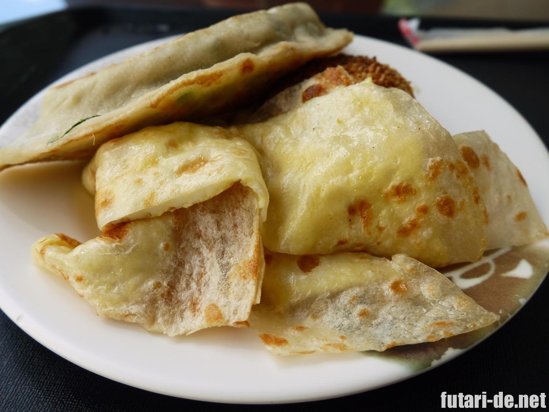 田記豆漿の蛋餅