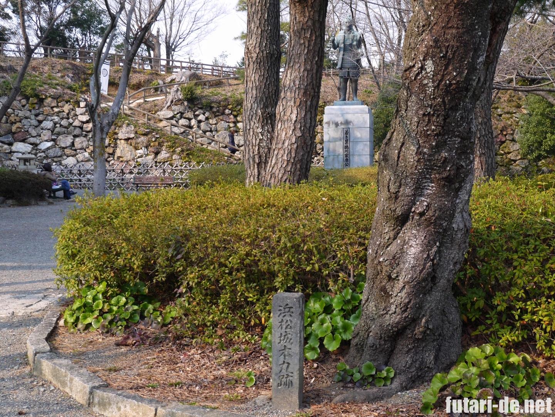 浜松城 徳川家康像