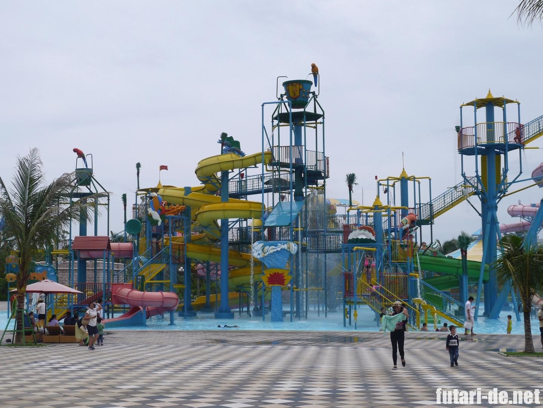 ベトナム フーコック ビンパールランド ウォーターパーク