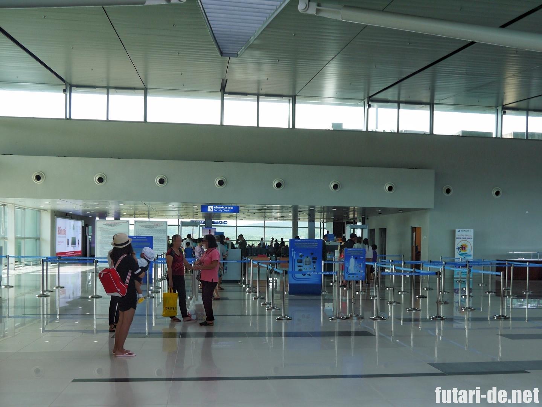 フーコック国際空港 セキュリティチェック