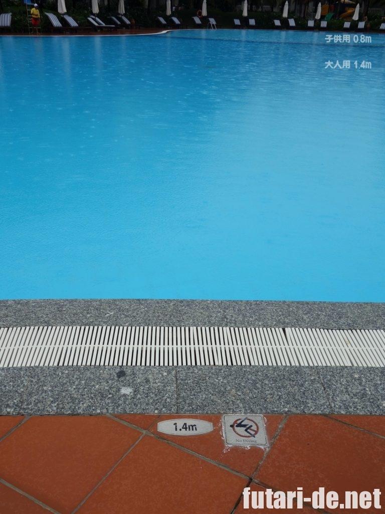 ビンパールリゾート フーコック プール