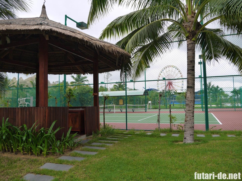 ビンパールリゾートフーコック テニスコート
