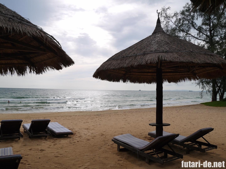 ベトナム ビンパールリゾート フーコック ビーチ