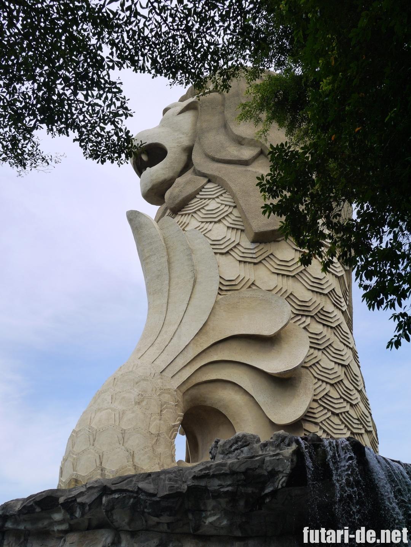 シンガポール セントーサ島 マーライオンタワー