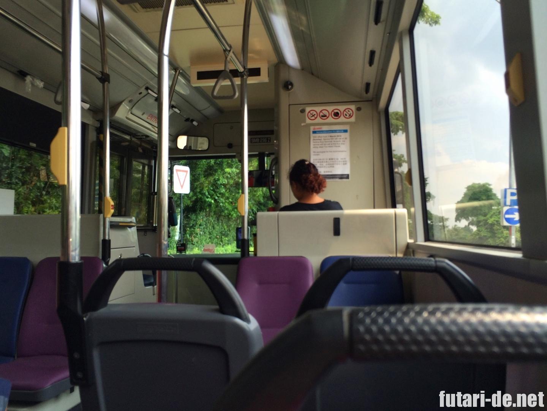 シンガポール 市内バス