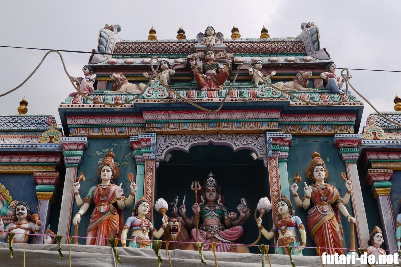 シンガポール スリ・バダパティラ・カリアマン寺院 ドゥルガー