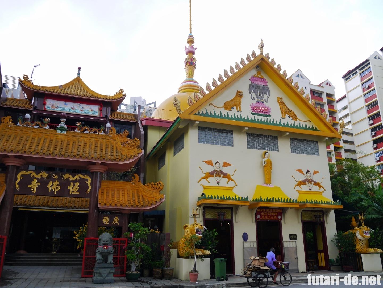 シンガポール 千燈寺院