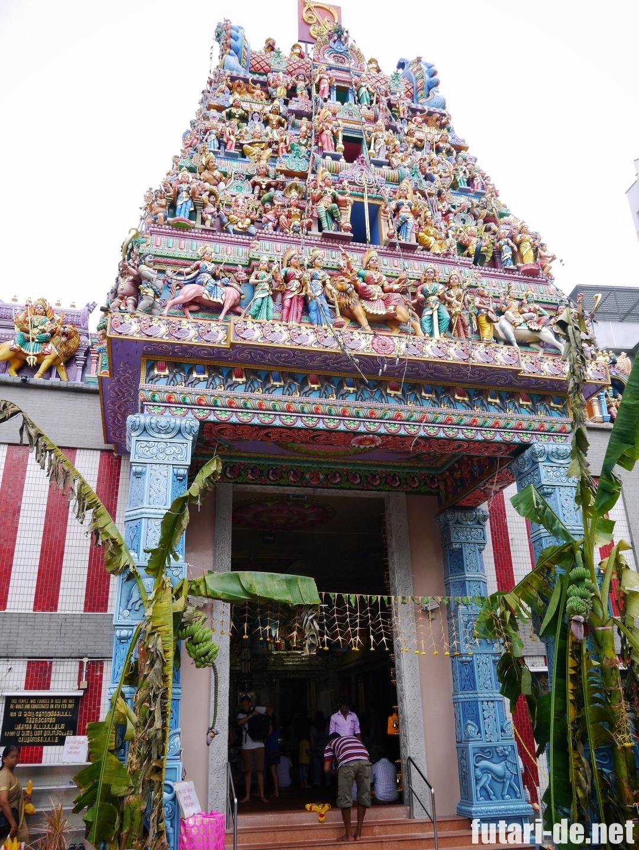 シンガポール スリ・ヴィラマカリアマン寺院