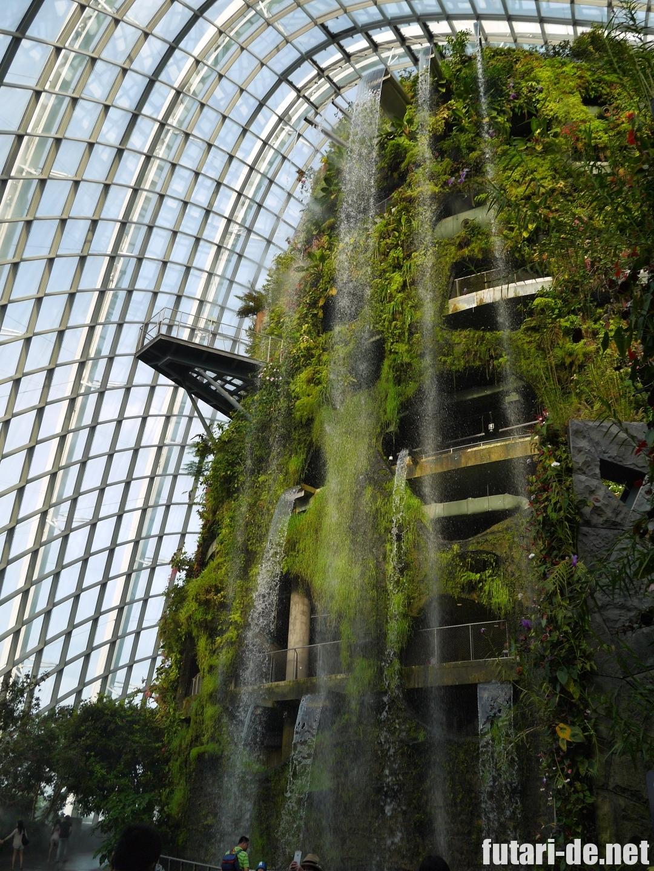シンガポール ガーデンズ・バイ・ザ・ベイ クラウドフォレスト