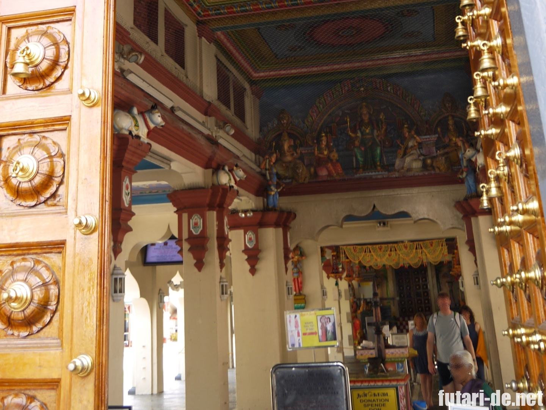 シンガポール ヒンドゥー教 スリ・マリアマン寺院