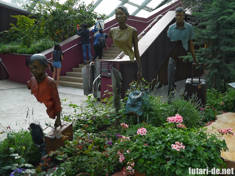 シンガポール ガーデンズ・バイ・ザ・ベイ フラワードーム
