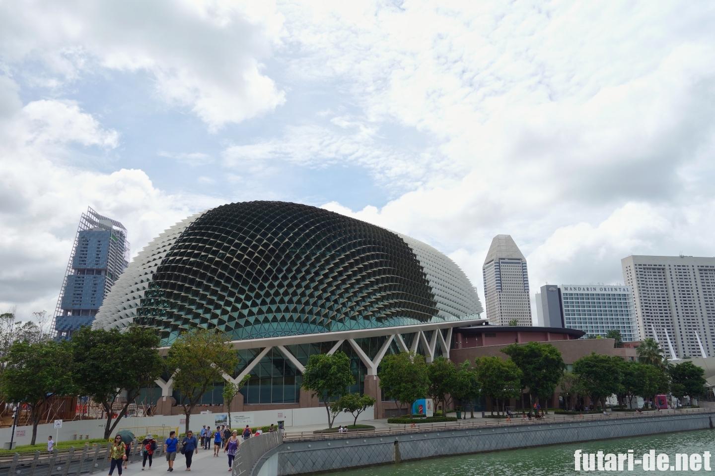 シンガポール エスプラネード・シアター・オン・ザ・ベイ