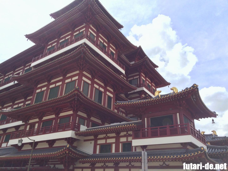 シンガポール 新加坡佛牙寺龍牙院