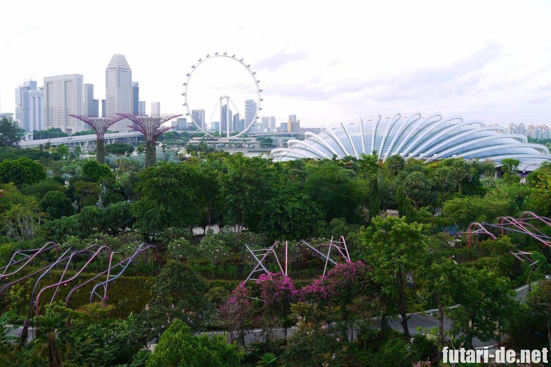 シンガポール ガーデンズ・バイ・ザ・ベイ スカイウェイ