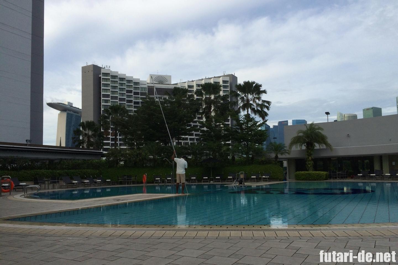 シンガポール パンパシフィックホテル プール