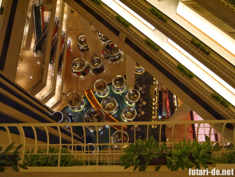 シンガポール パンパシフィックホテル ラウンジ