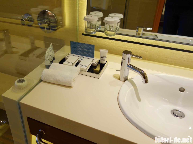 シンガポール パンパシフィックホテル 洗面所