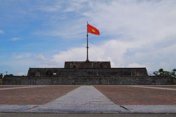 ベトナム フエ グエン朝王宮 フラッグ・タワー