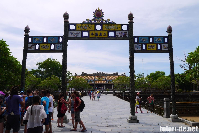 ベトナム フエ グエン朝王宮 太和殿