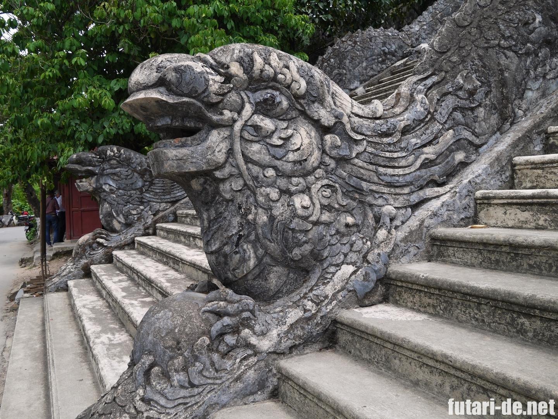 ベトナム フエ カイディン帝廟