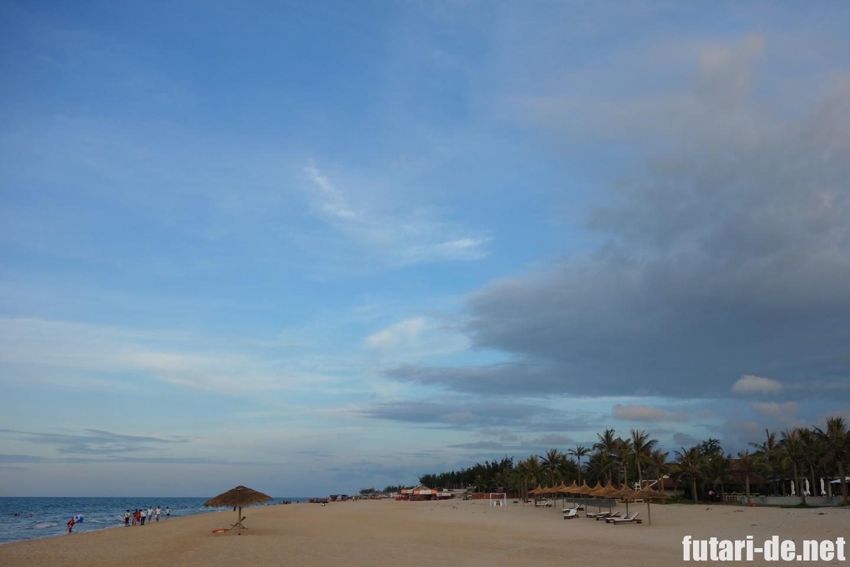 ベトナム フエ 海 プライベートビーチ アナマンダラフエ