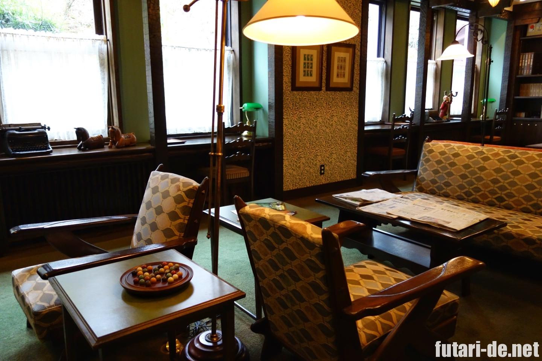 長崎県 雲仙 雲仙観光ホテル 図書室
