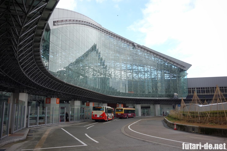 金沢駅 東口 バスターミナル もてなしドーム