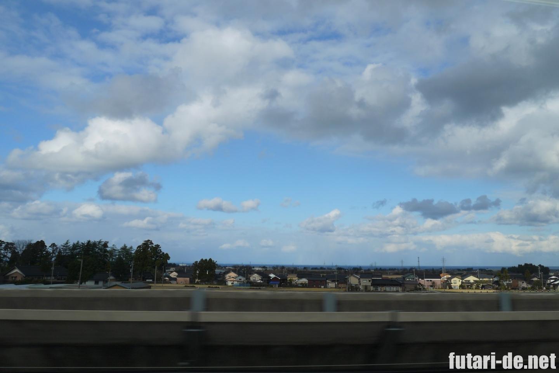 北陸新幹線 はくたか 555号 富山
