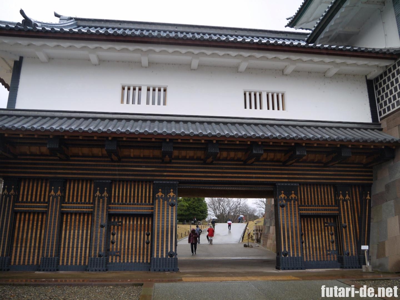石川県 金沢 金沢城 100名城