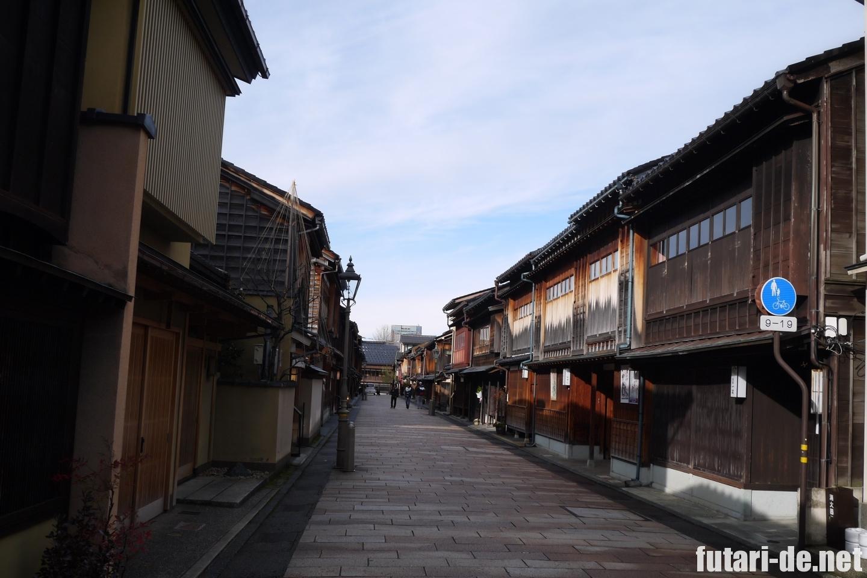 石川県 金沢 ひがし茶屋街