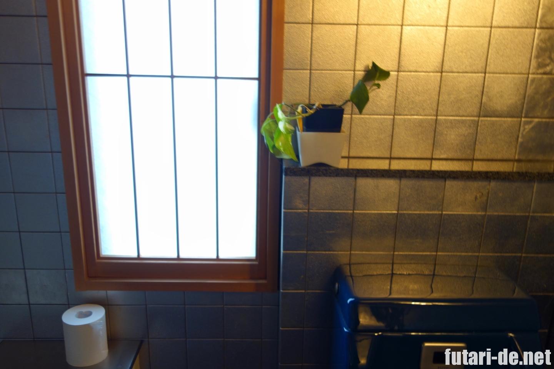 石川県 金沢 ひがし茶屋街 さくだ 金箔 プラチナ箔 トイレ