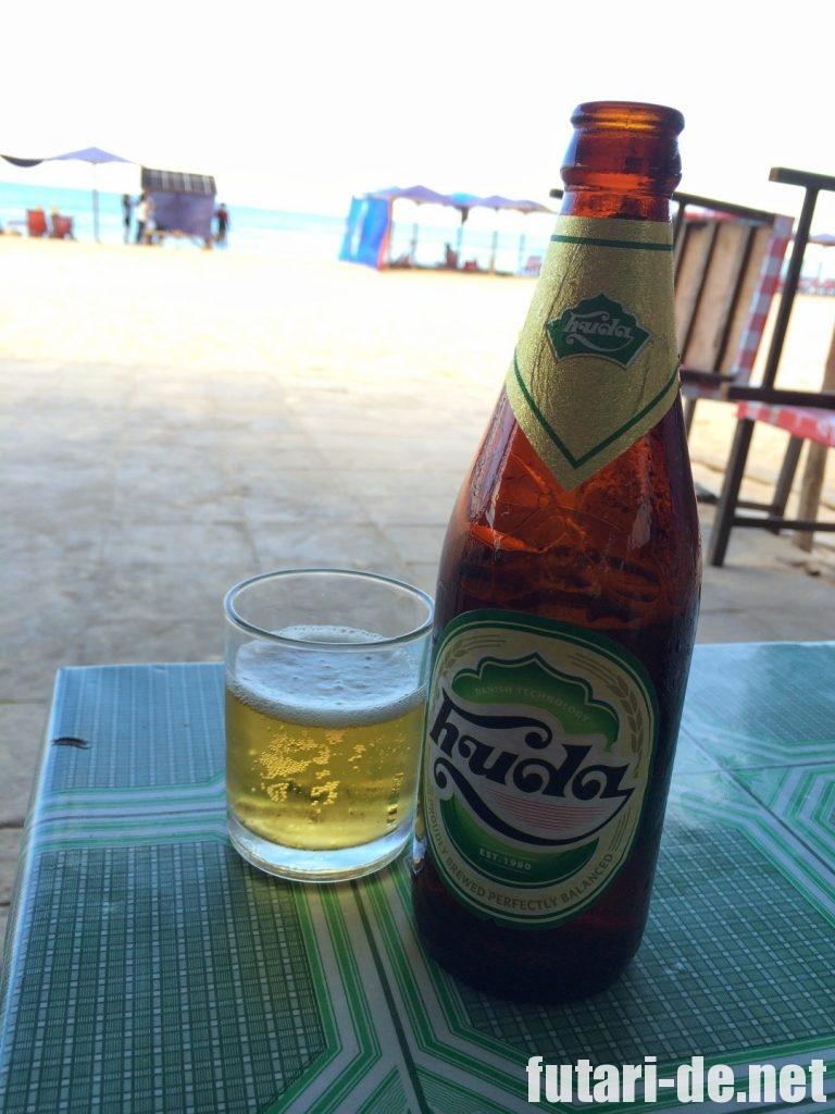 ベトナム フエ アナマンダラ・フエ NHU'Y ビール huda