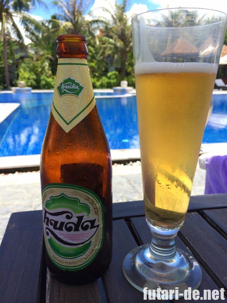 ベトナム フエ アナマンダラ・フエ プール ビール huda