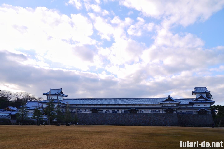石川県 金沢 金沢城 金沢城公園 橋爪櫓 菱櫓 五十間長屋