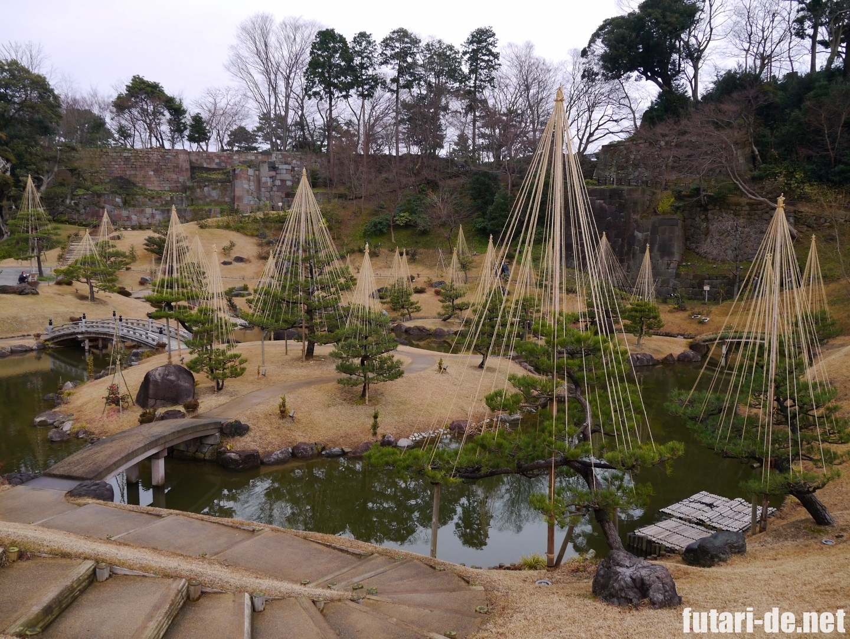 石川県 金沢 金沢城 金沢城公園 玉泉院丸庭園