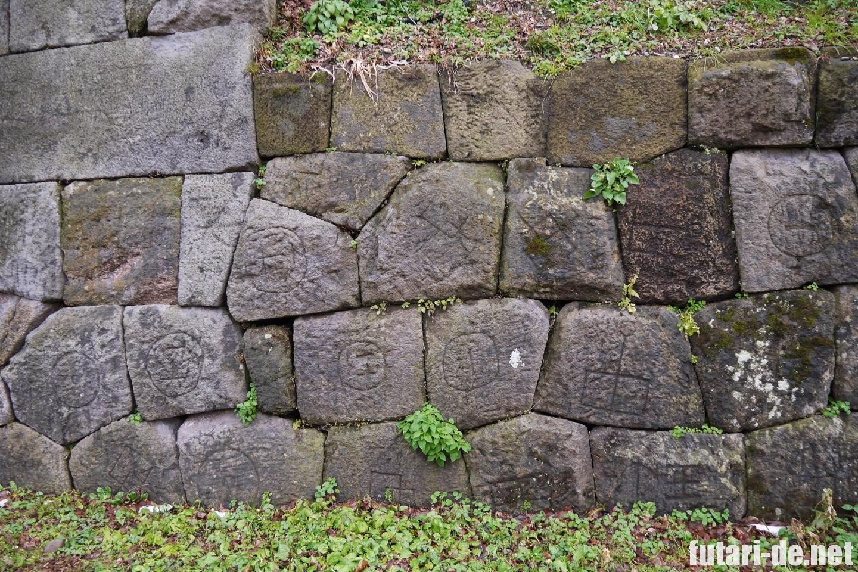 石川県 金沢 金沢城 金沢城公園 玉泉院丸庭園 石垣