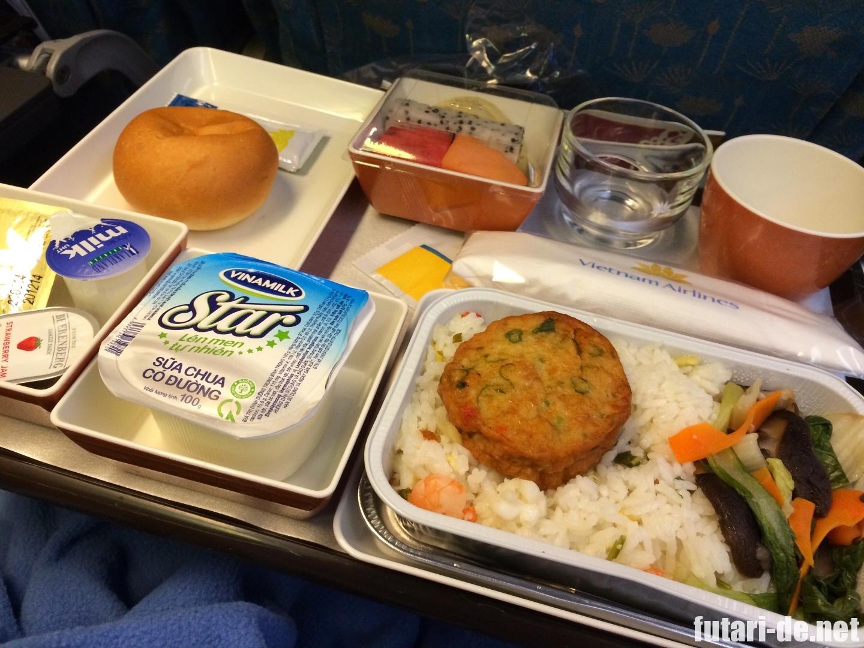 ベトナム ホーチミン ベトナム航空 機内食