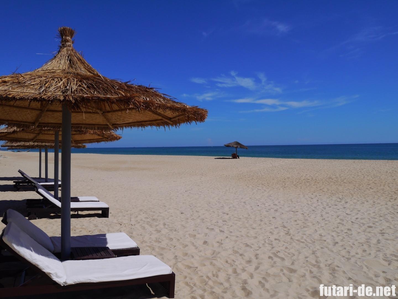 ベトナム フエ アナマンダラフエ ホテル プライベートビーチ