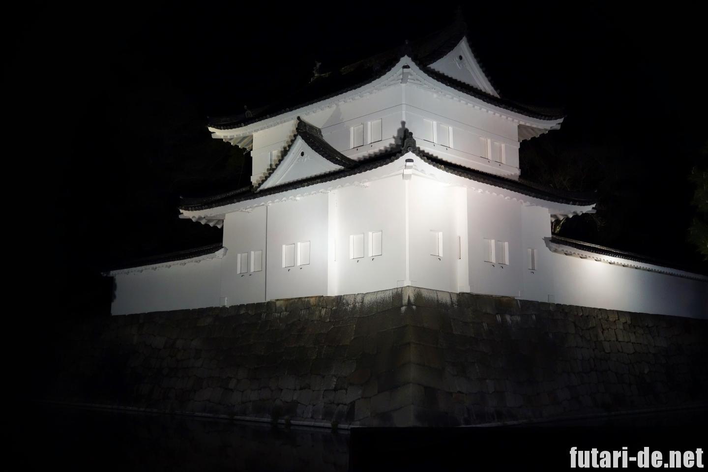 京都府 京都 二条城 100名城 ライトアップ