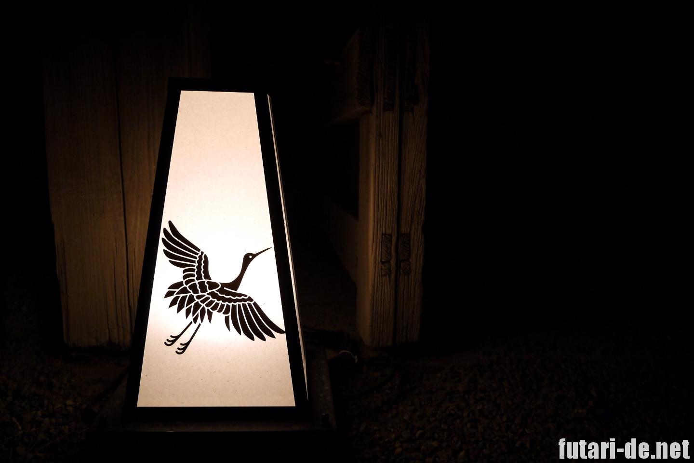 京都府 京都 二条城 100名城 灯籠 ライトアップ