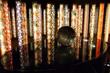 京都府 京都 嵐山駅 キモノフォレスト 着物の小径 龍の愛宕池