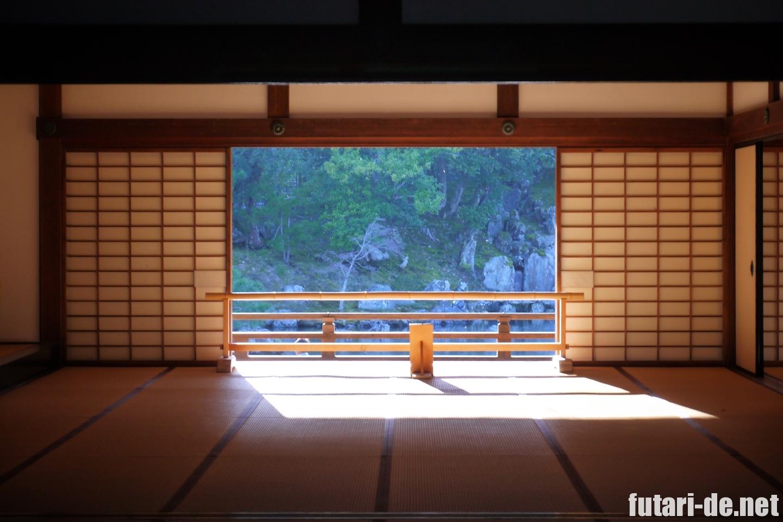 京都府 京都 嵐山 天龍寺 大方丈