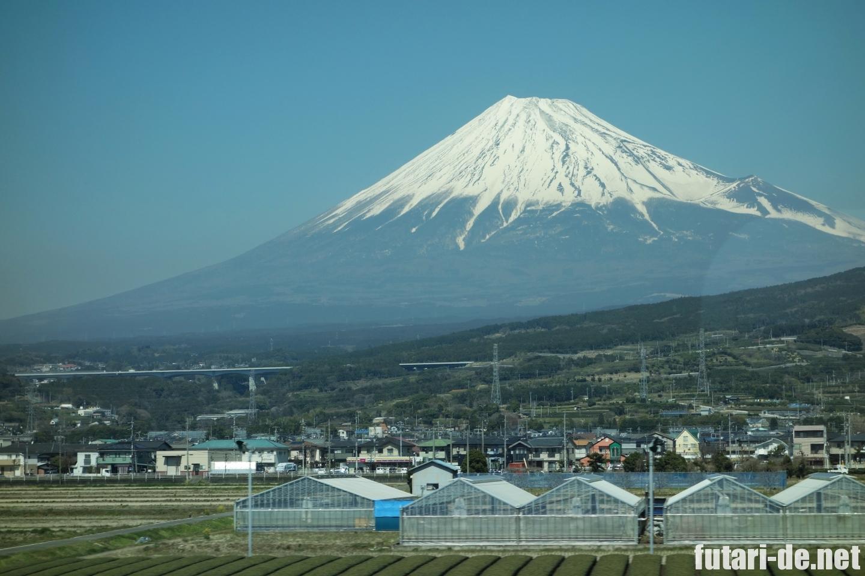 新幹線 東海道新幹線 富士山
