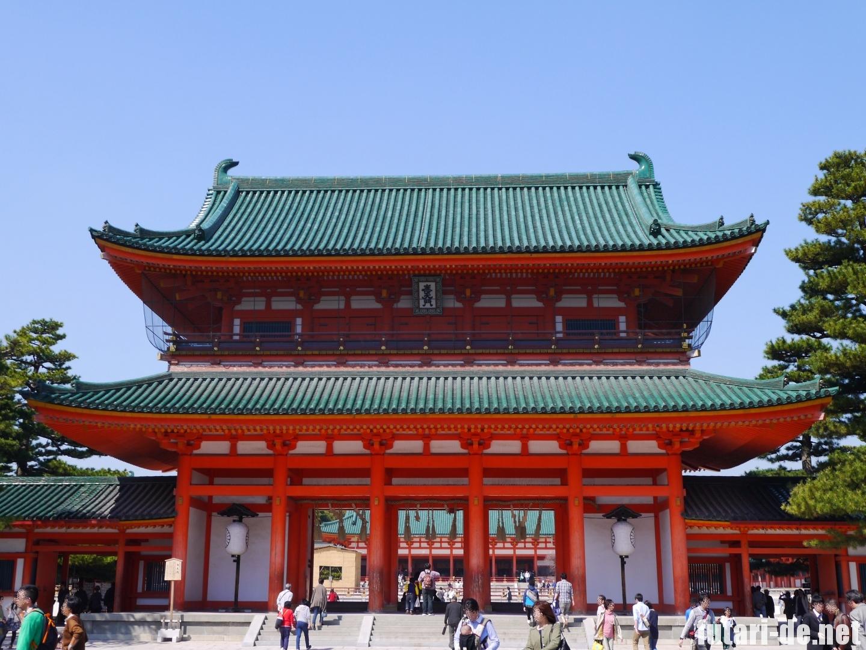 京都府 京都 平安神宮 應天門