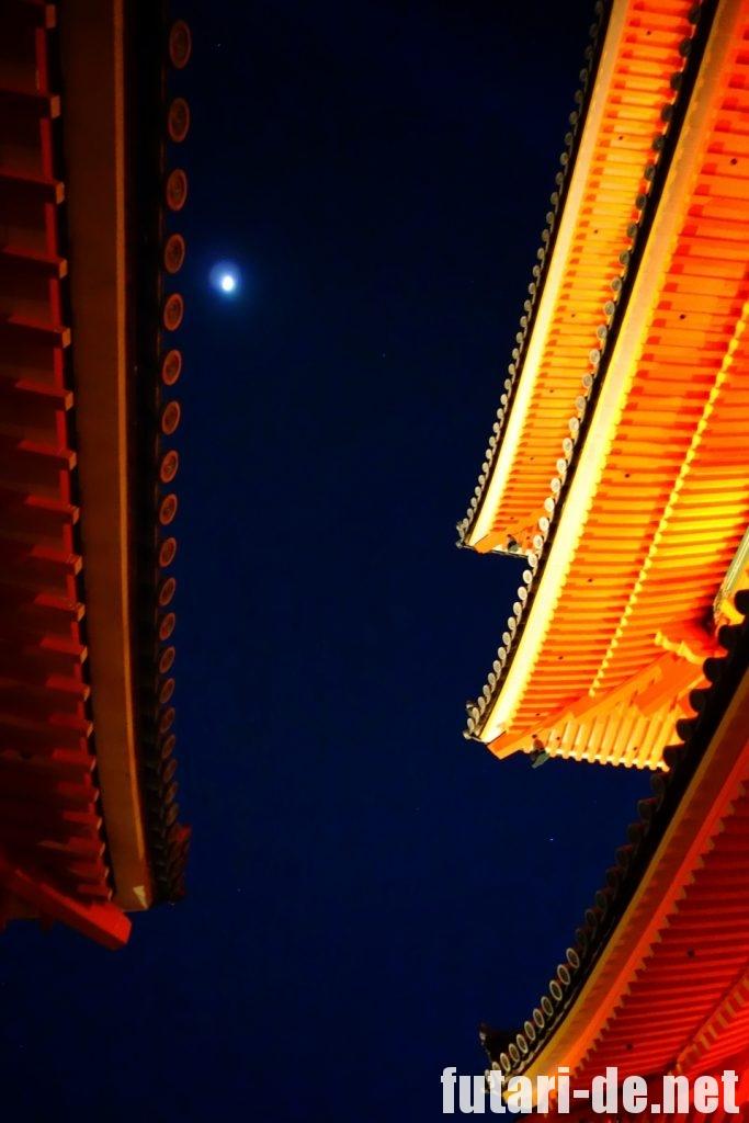 京都府 京都 清水寺 三重塔 夜の特別拝観