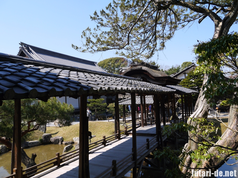 京都府 京都 高台寺 観月台