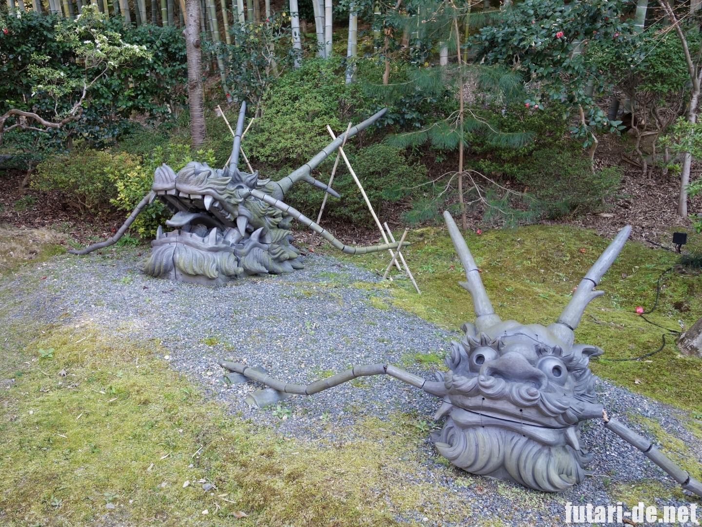 京都府 京都 高台寺 龍の頭